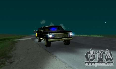 New FBI Rancher for GTA San Andreas