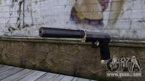 Silenced Combat Pistol from GTA 5 for GTA San Andreas