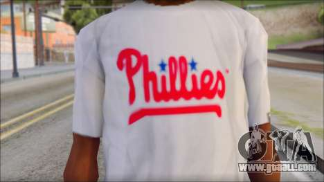 Phillies T-Shirt for GTA San Andreas third screenshot