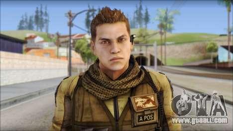 Piers Nivans Resident Evil 6 for GTA San Andreas third screenshot