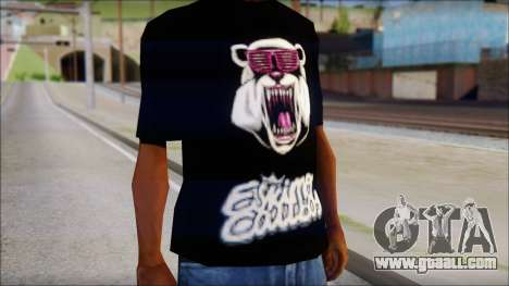 Eskimo Callboy Eisbaer T-Shirt for GTA San Andreas third screenshot