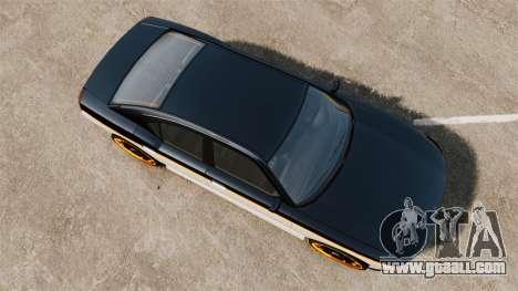 Bravado Buffalo Watch Dogs Black Viceroys for GTA 4 right view