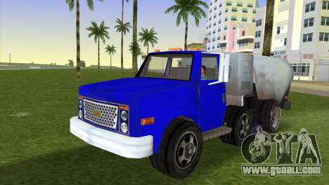 The new garbage truck Beta for GTA Vice City