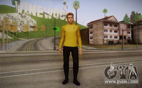 James T. Kirk From Star Trek for GTA San Andreas