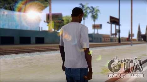 CM Punk T-Shirt for GTA San Andreas second screenshot