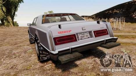 Dundreary Virgo Cliffrider for GTA 4 back left view