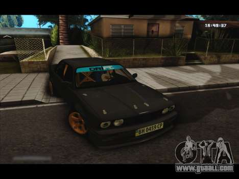 BMW e30 UDC for GTA San Andreas