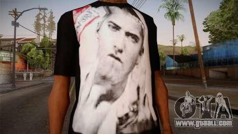 Eminem Fuck Off T-Shirt for GTA San Andreas third screenshot