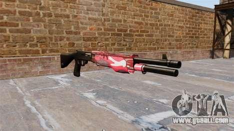Ружьё Franchi SPAS-12 Red urban for GTA 4