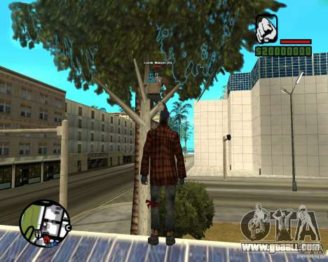 Players Informer for GTA San Andreas third screenshot