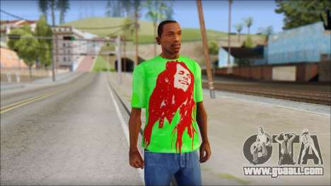 Bob Marley Jamaica T-Shirt for GTA San Andreas