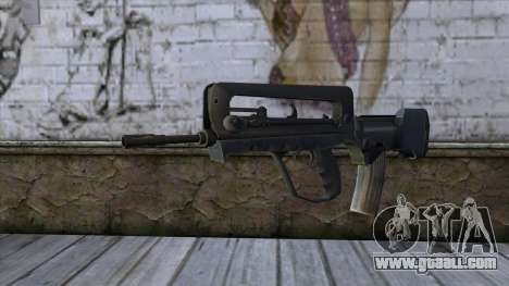 Famas from CS:GO v2 for GTA San Andreas