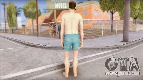 Beach Character for GTA San Andreas third screenshot