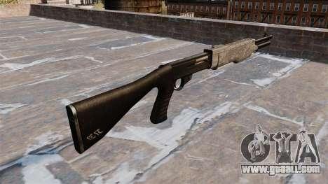 Gun Franchi SPAS-12 ACU Camouflage for GTA 4 second screenshot