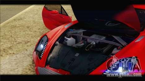 Aston Martin One-77 2010 for GTA San Andreas wheels