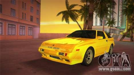 Mitsubishi Starion ESI-R 1986 for GTA Vice City back left view