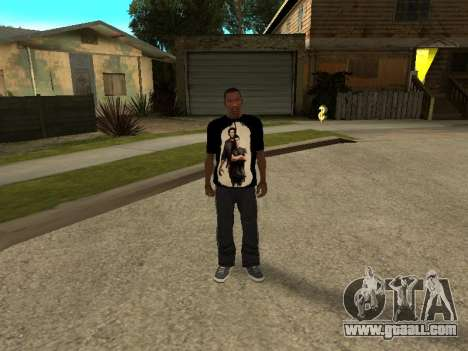 T-Shirt Supernatural for GTA San Andreas third screenshot
