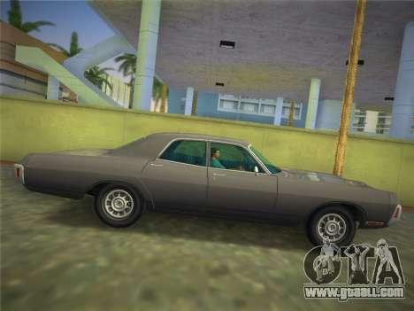 Dodge Polara 1971 for GTA Vice City right view