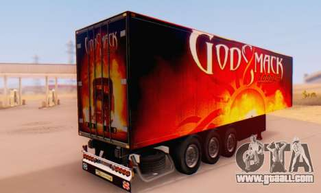 Godsmack - 1000hp Trailer 2014 for GTA San Andreas left view