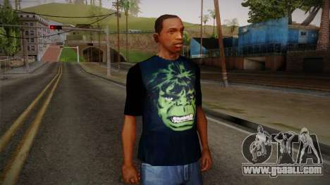 HULK T-Shirt for GTA San Andreas