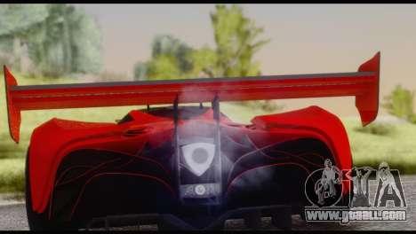 Mazda Furai 2008 for GTA San Andreas right view