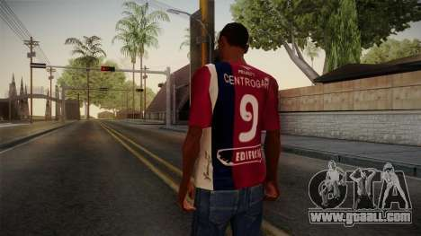 Workshops of Cordoba Shirt for GTA San Andreas second screenshot