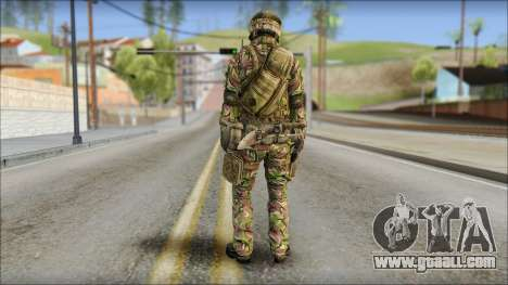Forest SAS from Soldier Front 2 for GTA San Andreas second screenshot