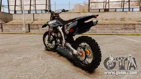 Yamaha YZF-450 v1.12 for GTA 4 back left view