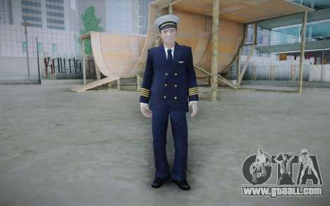 Commercial Airline Pilot from GTA IV for GTA San Andreas