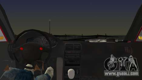 Skoda Superb Tuned for GTA Vice City back left view