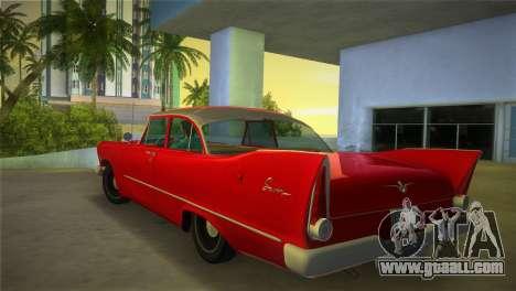 Plymouth Savoy Club Sedan 1957 for GTA Vice City left view