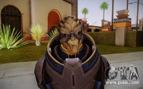 Garrus from Mass Effect 3 for GTA San Andreas third screenshot