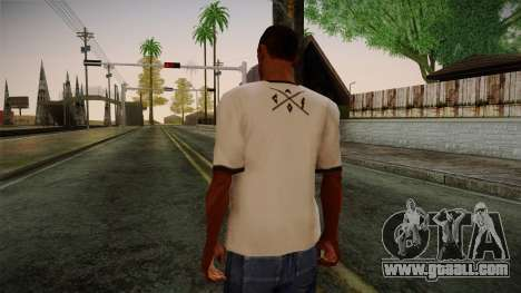 Chucks Anon Family T-Shirt for GTA San Andreas
