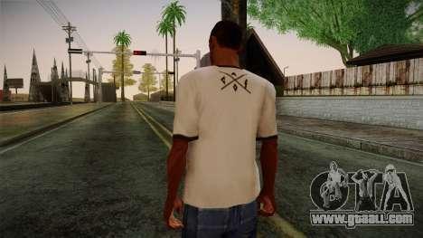 Chucks Anon Family T-Shirt for GTA San Andreas second screenshot