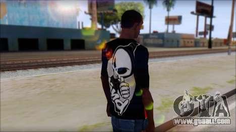 Blind Shirt for GTA San Andreas second screenshot