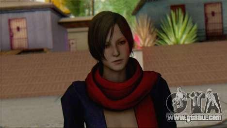 Ada Wong v2 for GTA San Andreas third screenshot