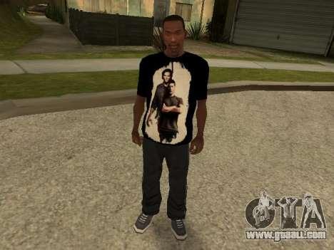 T-Shirt Supernatural for GTA San Andreas
