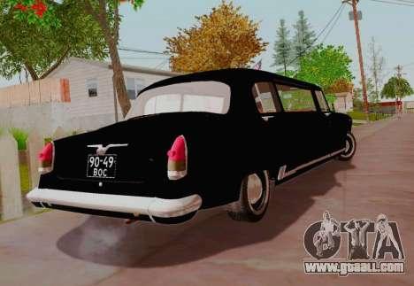 GAZ 21 Limousine for GTA San Andreas back left view