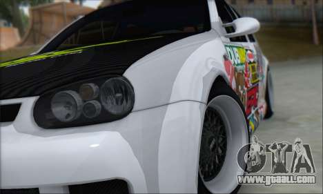 Volkswagen Golf MK4 R32 for GTA San Andreas side view