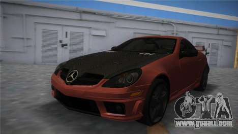 Mercedes-Benz SLK55 AMG Tuned for GTA Vice City