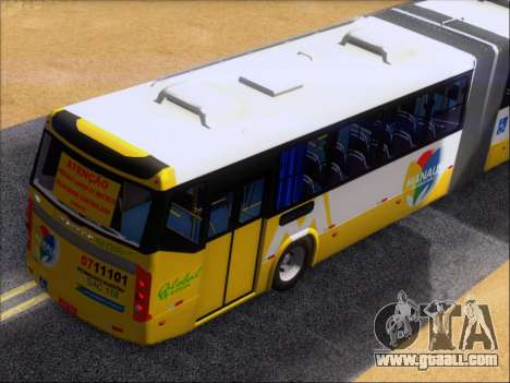 Прицеп Neobus Mega BHNS Volvo B12-340M for GTA San Andreas upper view
