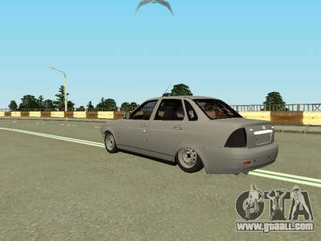 VAZ 2170 for GTA San Andreas left view