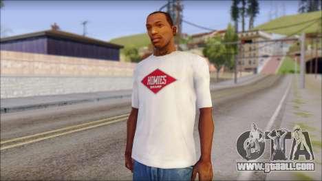 CM Punk T-Shirt for GTA San Andreas