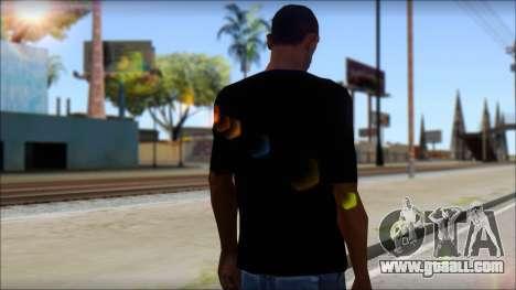 Boy Eagle T-Shirt for GTA San Andreas second screenshot