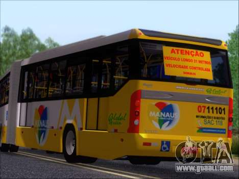 Прицеп Neobus Mega BHNS Volvo B12-340M for GTA San Andreas left view