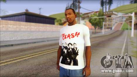 The Clash T-Shirt for GTA San Andreas