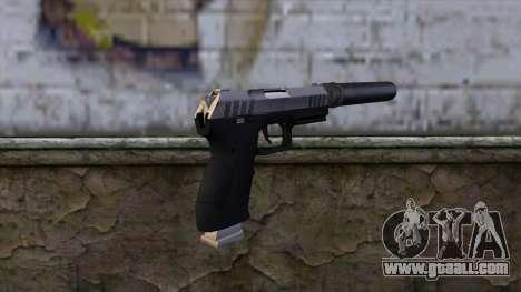Silenced Combat Pistol from GTA 5 for GTA San Andreas second screenshot