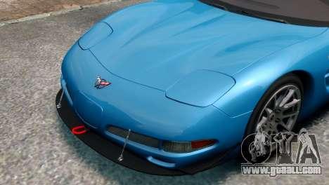 Chevrolet Corvette Z06 (C5) 2002 V3.0 [EPM] for GTA 4 back left view