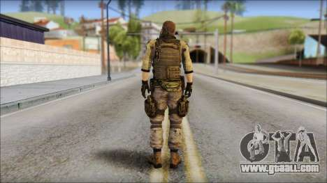 Piers Nivans Resident Evil 6 for GTA San Andreas second screenshot