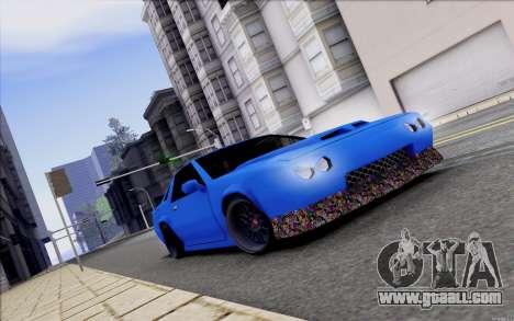 Buffalo Drift Style for GTA San Andreas inner view